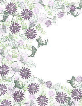 Majestix Secret Garden Clear Stamp Set