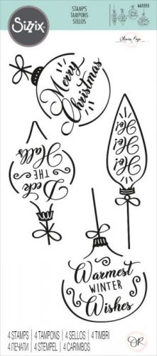Christmas Baubles Clear Stamp Set