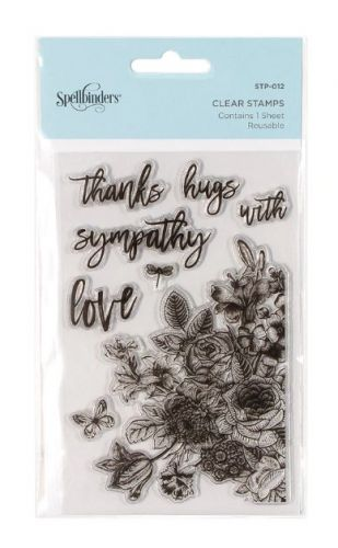 Floral Love Clear Stamp Set