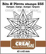 Starlight Rosette Clear Stamp
