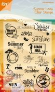 Summer Holiday Clear Stamp Set