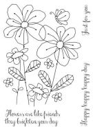 Summer Meadow Clear Stamp Set