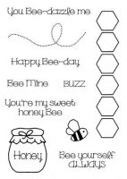 Sweet Honey Bee Clear Stamp Set