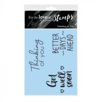 Thinking of You Sentiment Clear Stamp Set