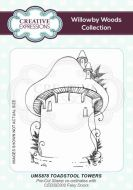 Willowby Woods Toadstool Towers Cling Rubber Stamp