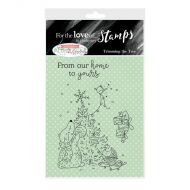 Trimming The Tree Clear Stamp Set