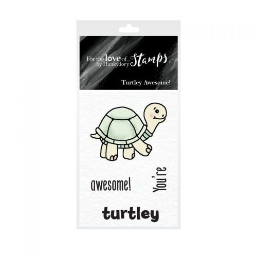 Pocket Sized Puns Turtley Awesome Clear Stamp Set
