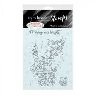 Want To Go Sledging Clear Stamp Set