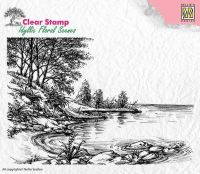 Waters Edge Clear Stamp
