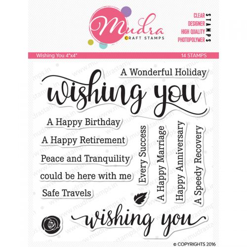 Wishing You Clear Stamp Set