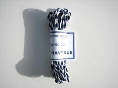 Navy Blue Chequered Cord