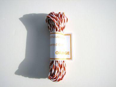 Orange Chequered Cord