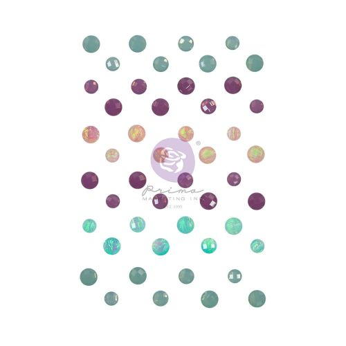 Watercolour Florals Self Adhesive Crystals
