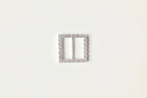 Diamante Buckle Slider Square (OUT OF STOCK)