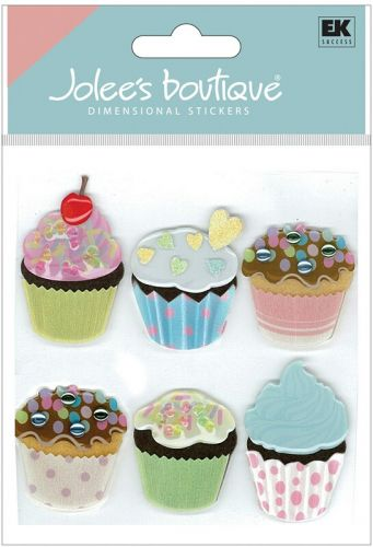 Vellum Cupcake Toppers