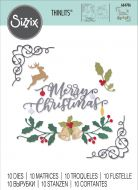 Festive Christmas Elements Die Set