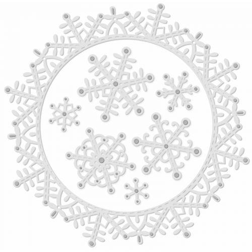 Snowflakes and Frame Die Set