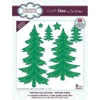 Winter Pine Trees Die Set