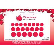 Woodware Bubble Craft Die