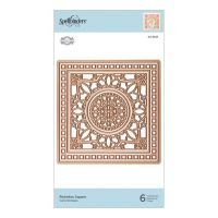 Flourished Fretwork Richelieu Square Die Set