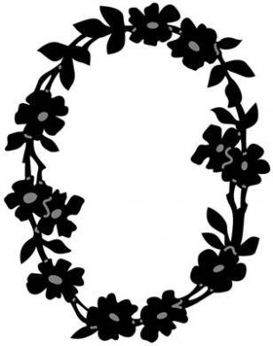 Marianne Craftable Flower Border Oval