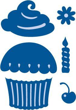 Marianne Creatable Cupcake