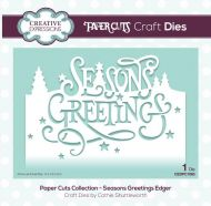 Paper Cuts Seasons Greetings Edger Die