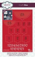 Advent Calendar Die Cutting Set
