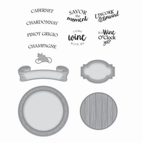 Barrel of Sentiments Stamp and Die Set