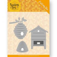 Honey Bee Hives Die Set
