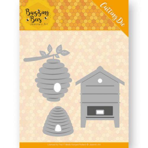 Honey Bee Hives Die Set