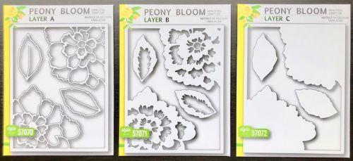 Birch Press Peony Bloom Layering Die Set