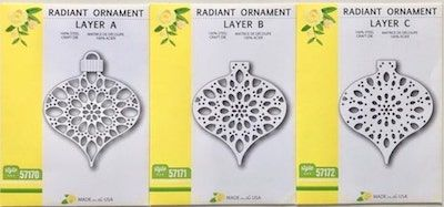 Radiant Ornament Christmas Layering Die Set (OUT OF STOCK)