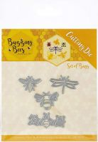 Bees Dragonfly Ladybird Die Set