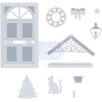 Christmas Door Die Set (OUT OF STOCK)