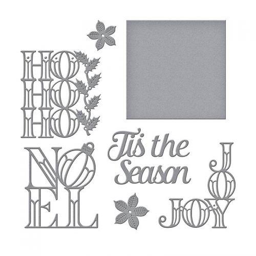 Christmas Word Blocks Die Set
