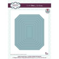 Noble Collection Clipped Corner Rectangle Die Set