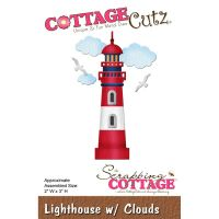 Cottage Cutz Lighthouse and Clouds Die Cutting Set