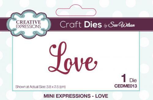 Creative Expressions Love Die Cutter