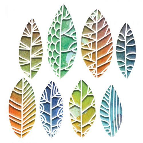 Thinlits Cut Out Leaves Die Set