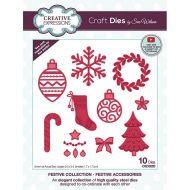 Festive Accessories Christmas Die Set