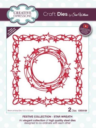 Festive Collection Star Wreath Die Set