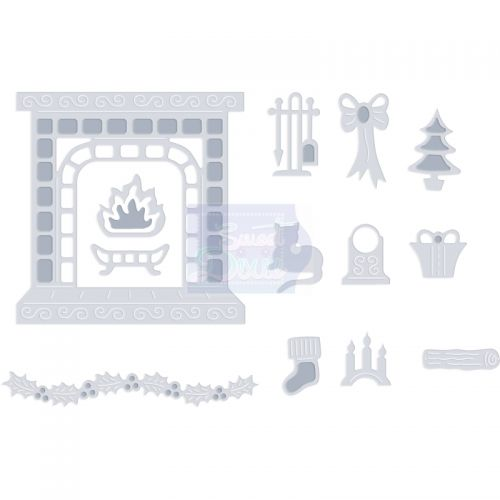 Fireplace Die Cutting Set (OUT OF STOCK)