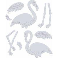 Flamingos Die Set