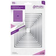 Gemini Stitched Edge Rectangle Die Set