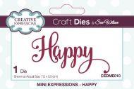 Mini Expressions Happy Die