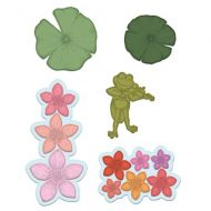 Heartfelt Creations Waterlily and Frog Die Cutting Set