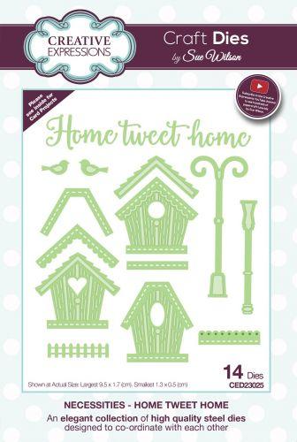 Home Tweet Home Bird House Die Set