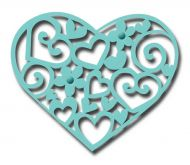 Lacy Heart Die Cutter