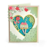 Thinlits Love Birds Shadow Box Die Set